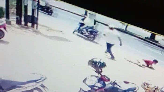 Tertangkap CCTV, Wanita Anggota Jaringan Curanmor di Lampung Ini Jadi Target Polisi