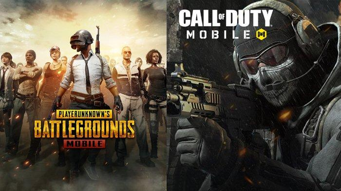 PUBG dan COD Mobile