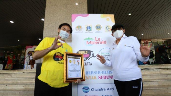 Gerakan Nasional Pilah Sampah dari Rumah dapat Penghargaan Original Rekor Indonesia
