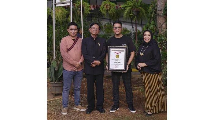 Brand Lokal Karya Influencer Indonesia Mendapatkan Rekor MURI