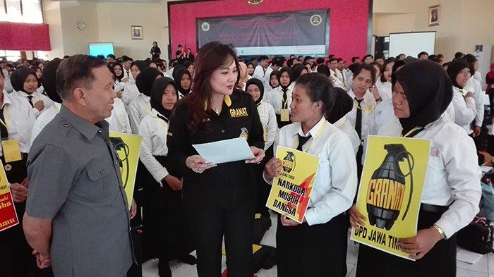 1.000 Mahasiswa Baru Universitas Bhayangkara Deklarasi Anti Narkoba