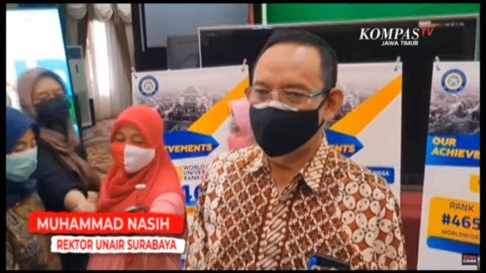 Rektor Unair, Muhammad Nasih  ss