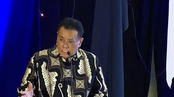 Rektor Universitas Indonesia Ari Kuncoro dalam acara Dialog Nasional VII Pemindahan Ibu Kota Negara bertajuk 'Membangun Kualitas Kehidupan Sosial Budaya', di Universitas Indonesia, Depok, Jawa Barat, Selasa (25/2/2020).