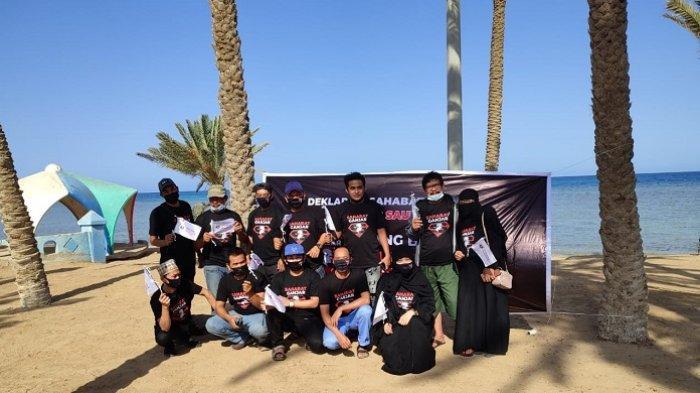 Sejumlah WNI Milenial di Arab Saudi Bentuk Relawan Ganjar