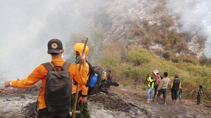 Kebakaran Hutan Gunung Slamet Meluas ke Wilayah Banyumas