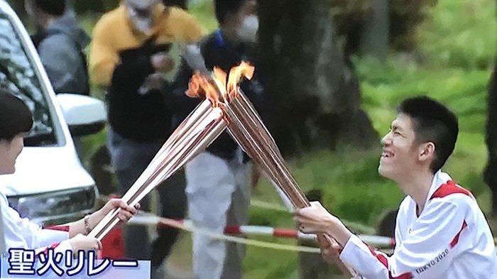 Antisipasi Covid-19, Relay Obor Olimpiade di Okinawa Jepang tak Berlangsung di Jalan Utama