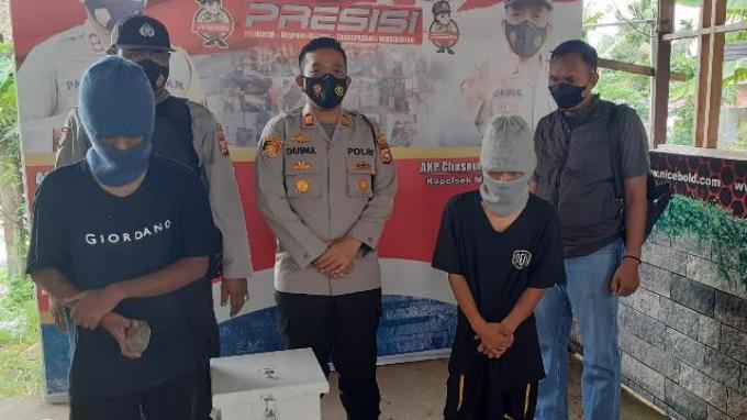 Dua Remaja Putus Sekolah Tertangkap Basah Congkel Kotak Amal di Masjid Bengkulu