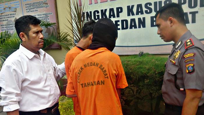 Dua Berandal Tanggung Rampok Polisi Lalu Lintas