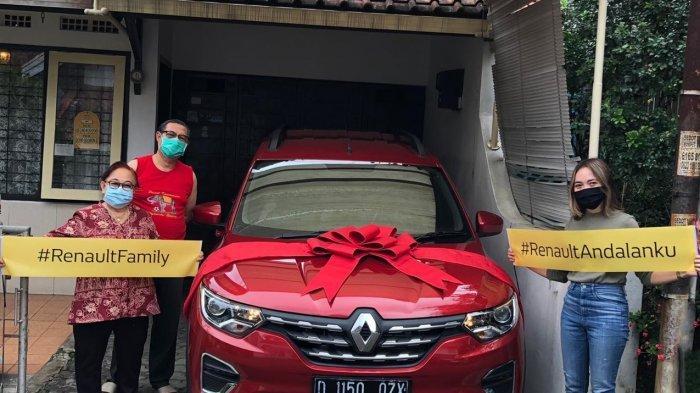 Jaringan Diler Renault Andalan Mulai Kirim MPV Triber ke Konsumen
