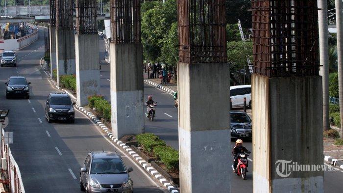 Pemprov DKI Diminta Bongkar Tiang Monorel di Kawasan Senayan dan Rasuna Said