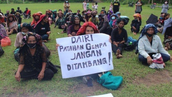 Warga Kirim Surat ke Komisi II DPR Tolak Tambang Dairi Prima Mineral di Zona Gempa
