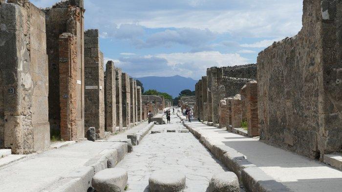 Jejak Sejarah Pompeii, Kota Kuno yang Terkubur oleh Letusan Gunung Berapi