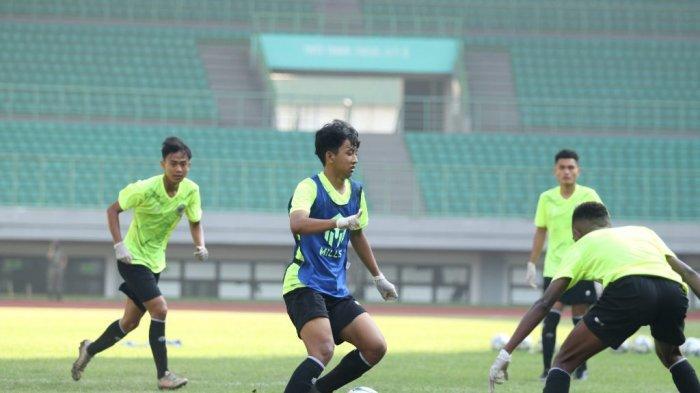 Pemain Muda Persija Jakarta Ini Bersyukur Bisa Beradaptasi di TC Timnas Indonesia U-16