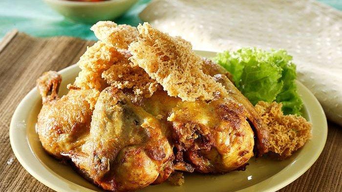 Resep Ayam Goreng Kremes Rebon Gurihnya Suka Bikin Nambah Nasi Tribunnews Com Mobile