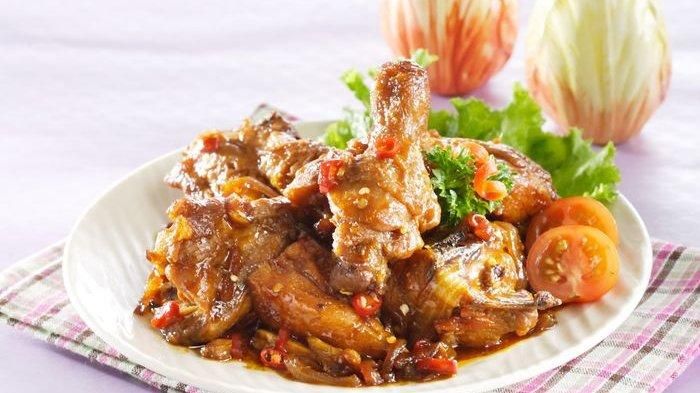 Resep Ayam Kecap Masak Pedas