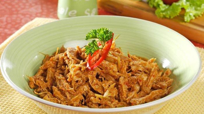 Resep Ayam Suwir Pedas