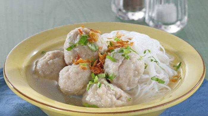 Resep Bakso Daging Kuah Ketumbar.