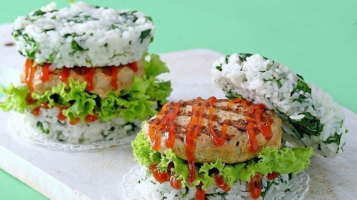 Resep Burger Nasi Ayam
