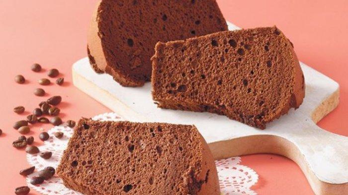 Resep Chiffon Cokelat Kopi.(Sajian Sedap)