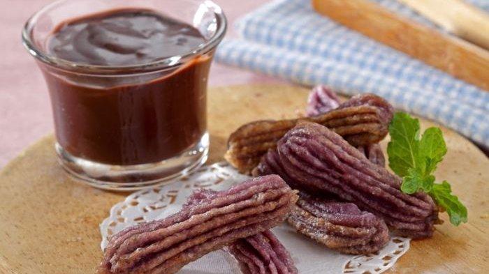 Resep Churros Talas Cokelat