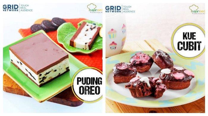 membuat puding oreo lengkap  video tutorial tribunnewscom Resepi Kek Kopi Coklat Bakar Enak dan Mudah