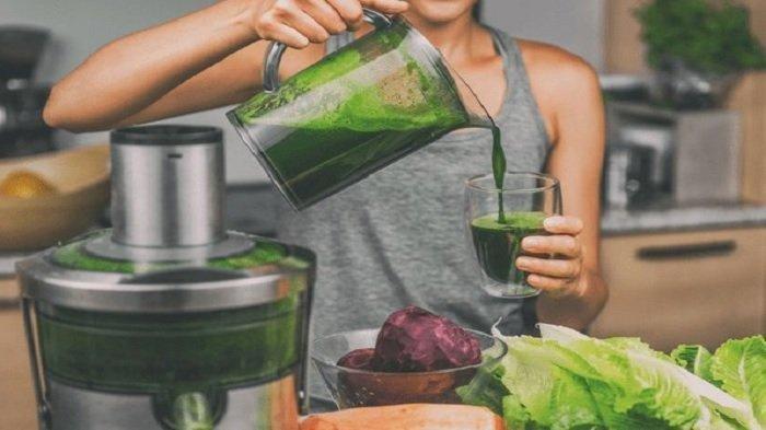 Resep jus sayuran hijau