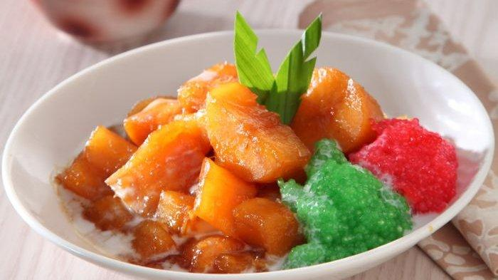 Resep Kolak Singkong Karamel