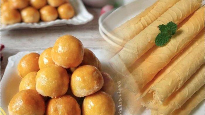 Resep Kue Kering Lengkap Terbaru Lebaran 2019 Sagu Keju Kastengel Nastar Egg Roll Kue Kacang Tribunnews Com Mobile