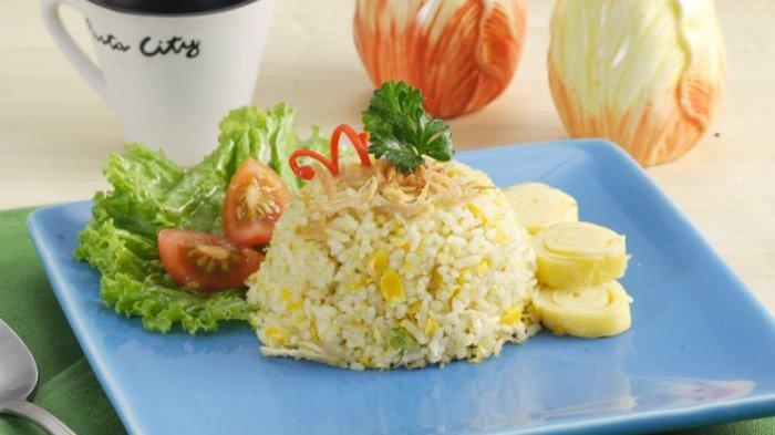 Resep Nasi Jagung Ayam Suwir