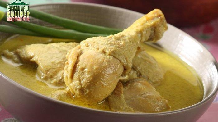 Resep Opor Ayam Kuning untuk melengkapi sajian lebaran bersama keluarga