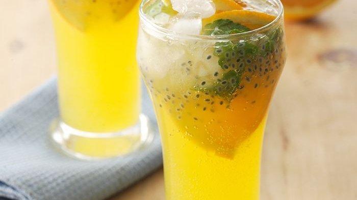 Resep Orange Mint Squash.