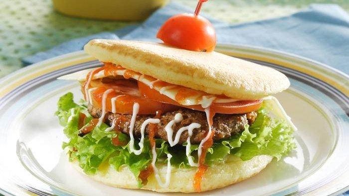 Resep Pancake Burger