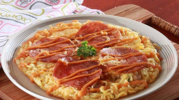 Resep Pizza Mi Sangat Praktis Dibuat, Cocok Untuk Menu Sarapan Pagi Ini