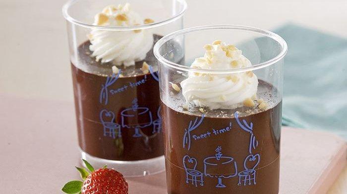 Bisa Dibuat Rame-rame dengan Keluarga, Resep Puding Cokelat Kacang ini Pasti Bikin Nagih!