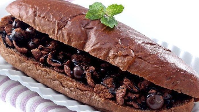 Resep Roti Panjang Dobel Cokelat