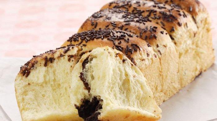 Resep Roti Sobek Isi Cokelat.