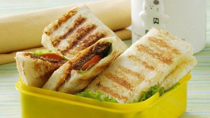 Resep Sandwich Burger Goreng
