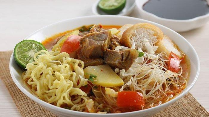 Resep Soto Mie Daging.
