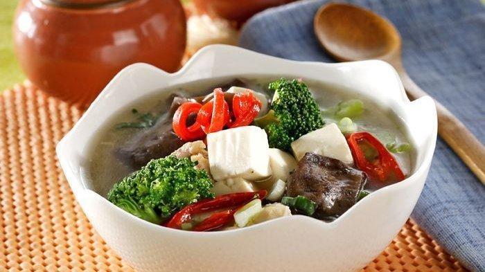 Resep Sup Brokoli Tahu Sutra.