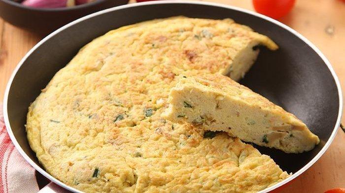 Resep Telur Dadar Tahu Lumat