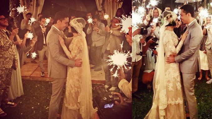 Ini Isi Janji Suci Pernikahan Andien Ippe Tribunnews Com