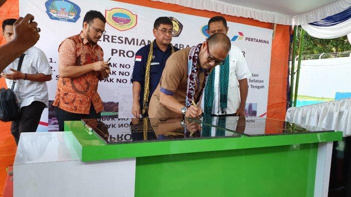 Pertamina Resmikan Tiga Titik BBM Satu Harga Maluku Utara