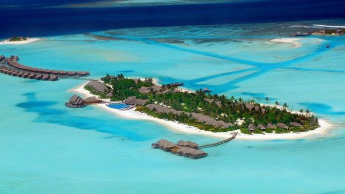 Resor Anantara Dhigu di Maladewa merupakan salah satu tempat favorit untuk tempat berlibur keluarga Raja Arab Saudi, Salman bin Abdulaziz al-Saud.