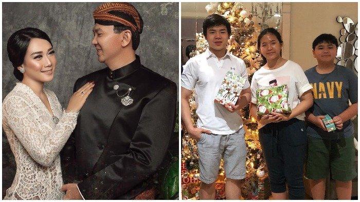 Ahok Cium Puput Setelah Diberi Kejutan Ultah ke-54, Anak Veronica Tan Unggah Ini: The Real Badass !