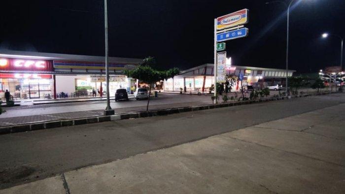 Larangan Mudik Resmi Berlaku, Rest Area Tol Palikanci KM 228 Sepi