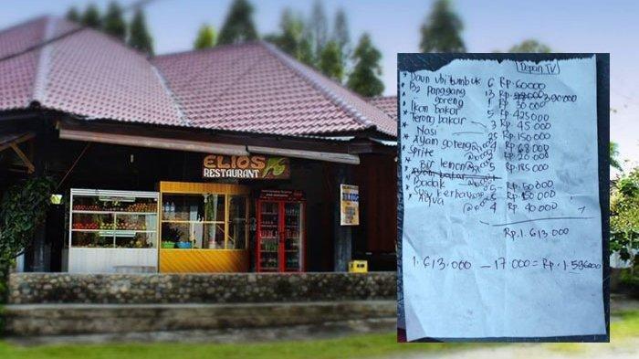 Restoran yang dikeluhkan wisatawan di Samosir