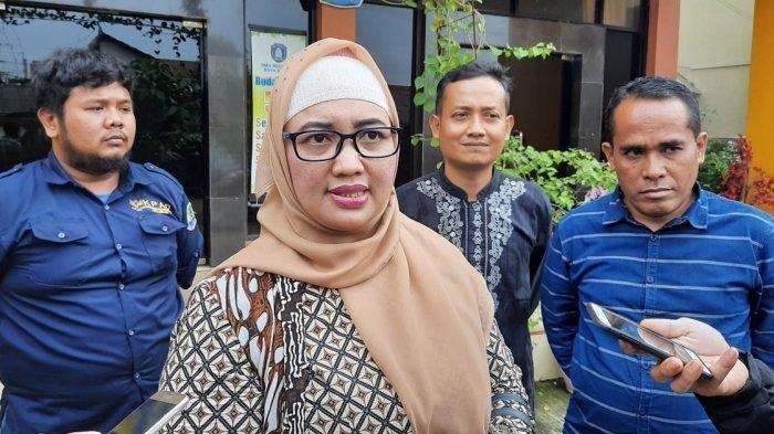 Komisioner KPAI Retno Listyarti di SMAN 12 Kota Bekasi