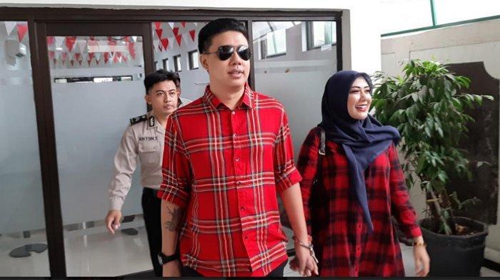 Rey Utami ketika ditemui di Pengadilan Negeri Jakarta Selatan, Senin (23/3/2020).