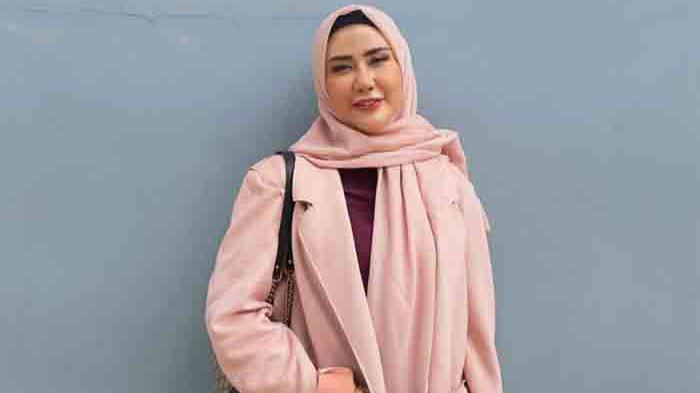 Rey Utami ketika ditemui di gedung Trans TV, Jalan Kapten Tendean, Mampang Prapatan, Jakarta Selatan, Jumat (29/1/2021).