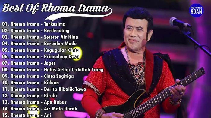 Download Lagu Rhoma Irama Full Album, Playlist Dangdut Terpopuler Sepanjang Masa Unduh MP3 di Sini
